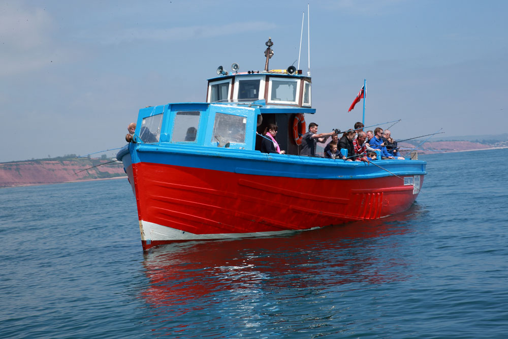 The Southern Angler fishing boat