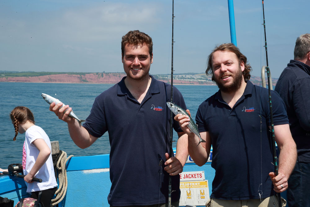 Mackerel fishing trips Exmouth